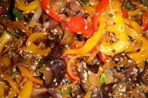 Баклажаны по-корейски. Салаты, закуски, рецепты на зиму
