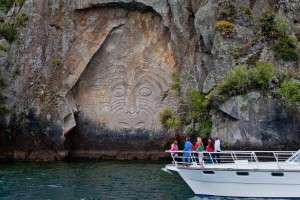 Озеро Туапо в Новой Зеландии