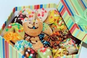 Печенье с пожеланиями для детей