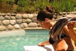 Бассейн на даче своими руками: подробная инструкция