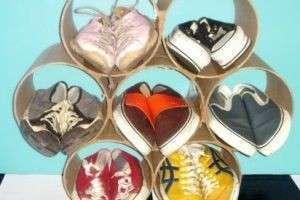Как навести порядок в прихожей, или Полка для обуви своими руками