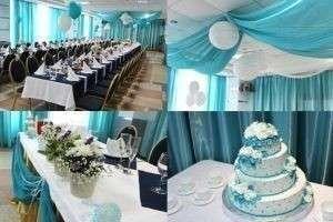 Бирюзовая свадьба: идеи и фото оформления торжества