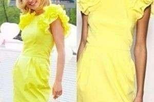 Как правильно подобрать сочетание из желтого в одежде