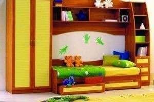 Главное при покупке мебели для детской комнаты
