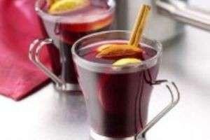 Любимый спиртной напиток - винный пылающий зимний, а именно, глинтвейн