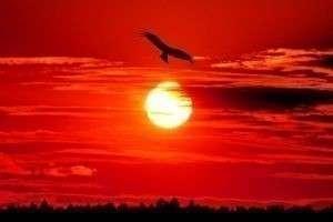 К чему красный закат: что говорят приметы и наука