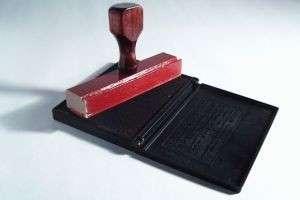 Печати и штампы: применение и оснастка