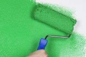 Обои под покраску в интерьере: как и чем клеить и красить