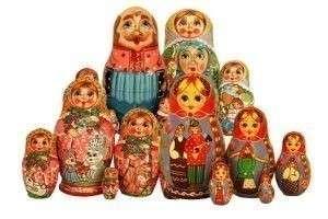 Русские национальные подарки для иностранцев
