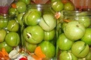 Как засолить зеленые помидоры — оригинальные и простые рецепты на зиму