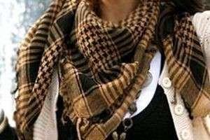 Стильно и модно —  как завязывать арафатку