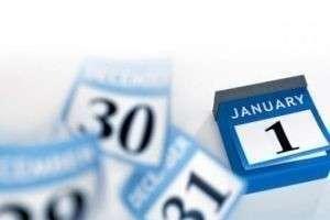 Сколько выходных в январе 2015: календарь зимних каникул