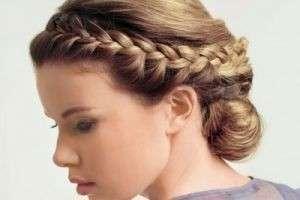 Как заплести косу вокруг головы: французский и греческий варианты