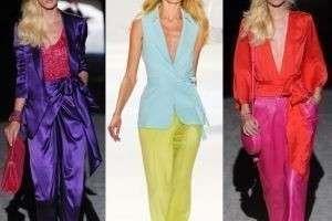 Правильное сочетание цветов одежды