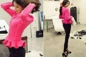 С чем носить розовый свитер: 8 беспроигрышных комбинаций