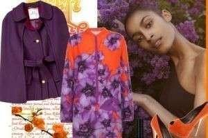 С каким цветом сочетается фиолетовый: в одежде и интерьере