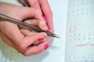 Как правильно держать ручку: начинаем учиться писать