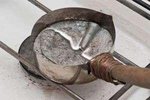 Как сделать олово в домашних условиях? Пошаговый процесс литья