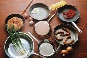 Как выбрать сковороду для газовой плиты?