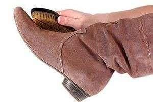 Уход за замшевой обувью