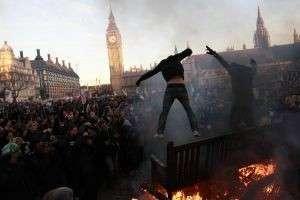 Выступления студентов в Лондоне