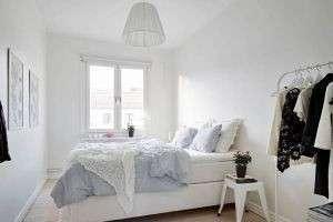Белые интерьеры: кухня, гостиная и ванная в черно-белых цветах