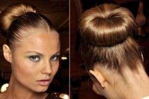 Как сделать пучок на голове: прическа не хуже, чем в салоне
