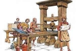 Печатный станок Гутенберга: история его изобретения и развития