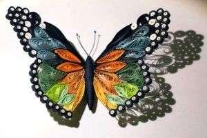 Поделки из квиллинга: сердце, дерево, бабочка, снежинка, павлин