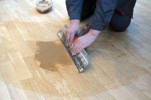 Шпаклевка для деревянного и бетонного пола