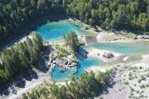 Голубые озера в Горном Алтае – уникальное природное явление