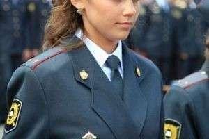 Девушка-полицейский, звучит неплохо