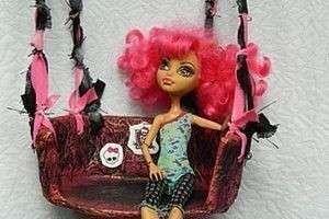 Как сделать качели для кукол: оригинальная игрушка для дочки