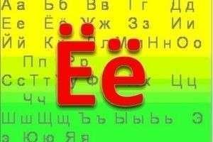 Правописание буквы «ё» в документах