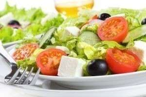 Полезные салаты без майонеза