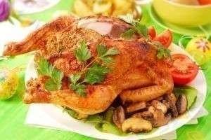 Новогоднее блюдо из жареной птицы: как украсить праздничный стол