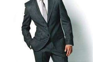 Что такое деловой костюм для мужчин?
