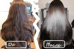 Ламинирование волос утюжком в домашних условиях