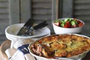 Мусака из баклажанов и кабачков с фаршем: рецепты блюда