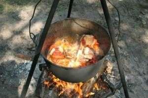 Рецепт приготовления лагмана на костре в казане с фото и видео