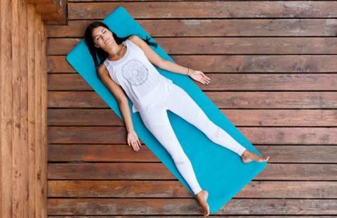 Шавасана, как метод глубокого расслабления