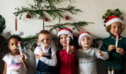 Новогодние поделки из бумаги: что можно сделать с детьми?