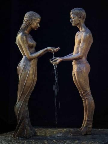 Восхитительные фонтаны Малгожаты Ходаковской