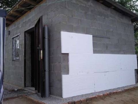 Выполняем утепление гаража снаружи и изнутри