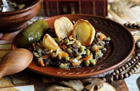 Вкусные рецепты картошки с опятами в духовке