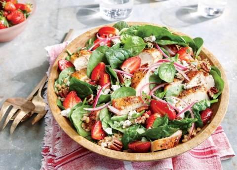 Рецепты полезных и диетических салатов с пеканом