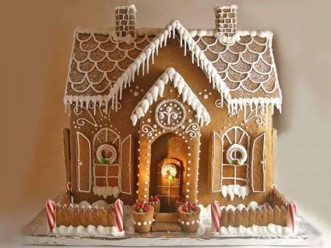 Рождественские пряничные домики своими руками