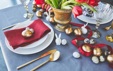 Организация праздника: как украсить стол к Пасхе?
