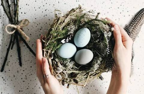 Как сделать своими руками подставки для пасхальных яиц?
