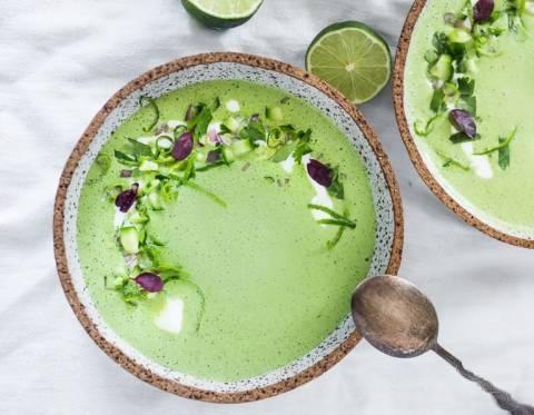 Рецепты холодных супов с огурцом для лета